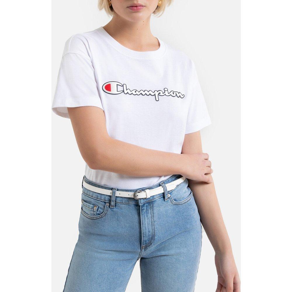 T-shirt en coton, manches courtes et logo - Champion - Modalova