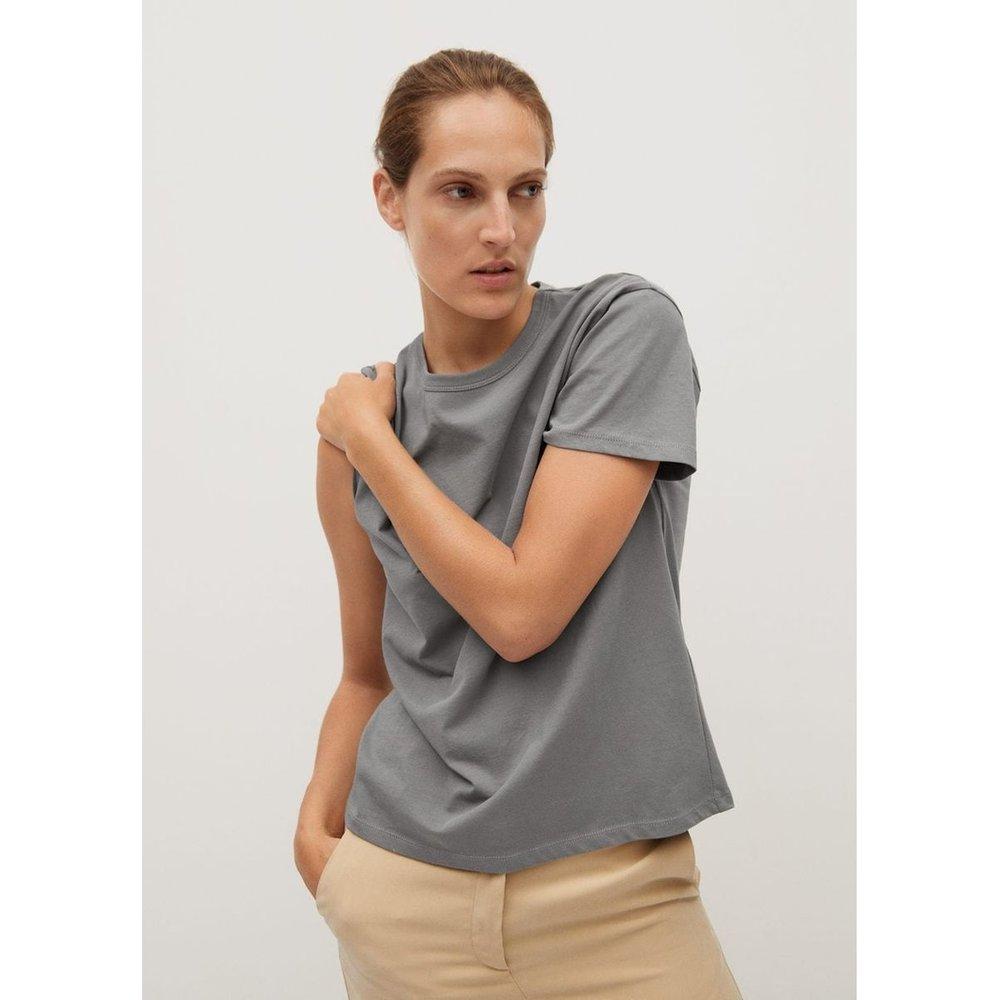 T-shirt coton bio - Mango - Modalova