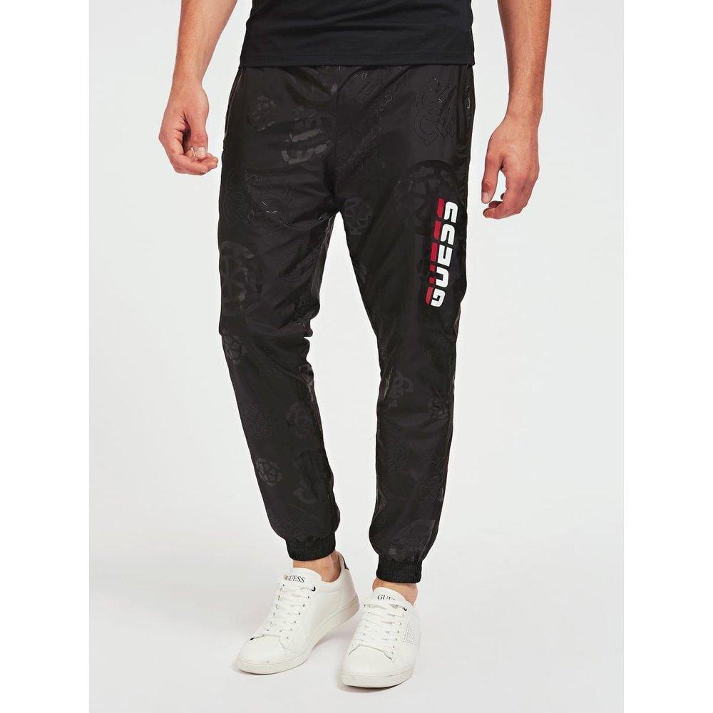 Pantalon Imprimé All Over - Guess - Modalova