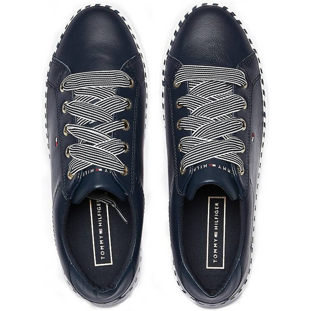 Baskets nautical lace up sneaker - Tommy Hilfiger - Modalova