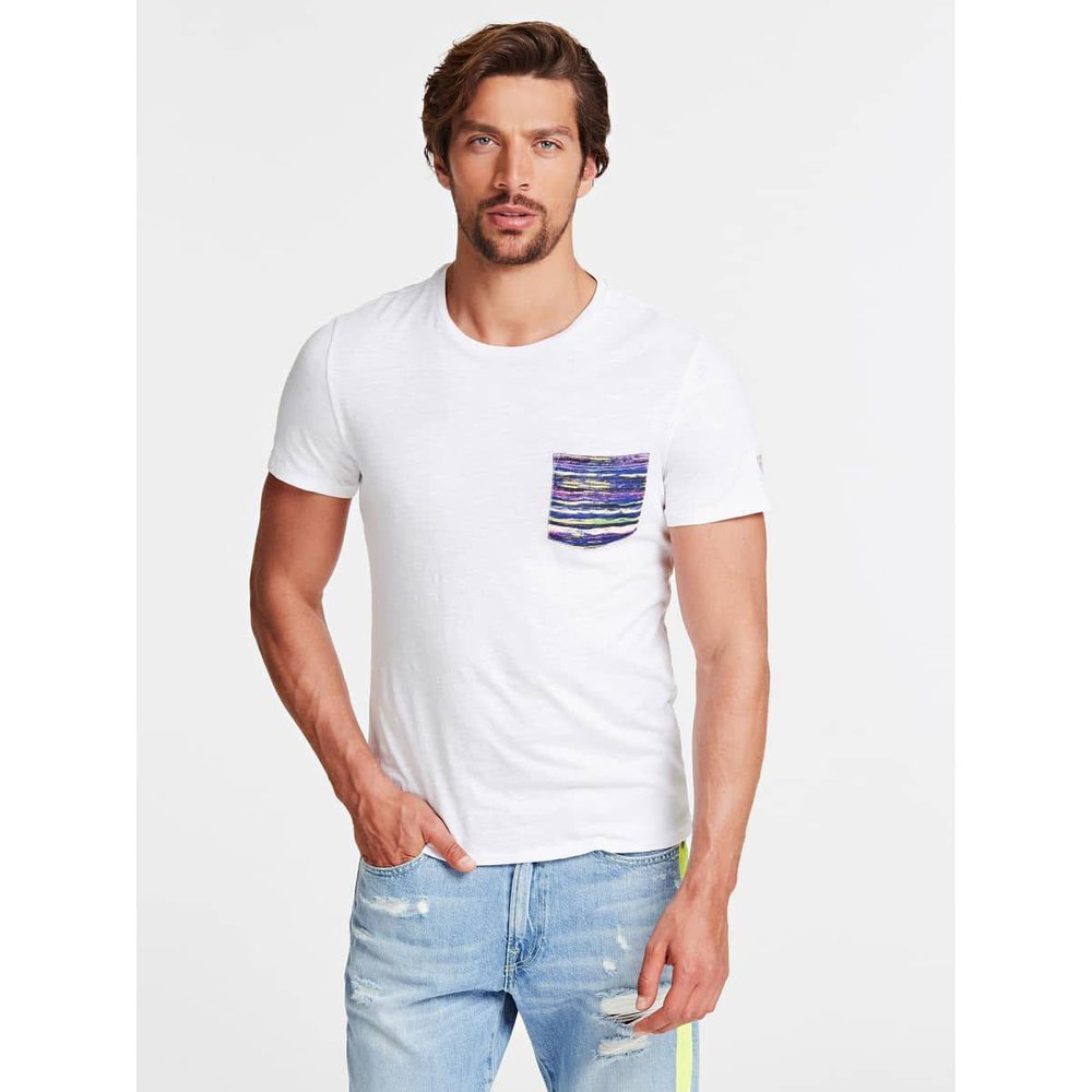 T-Shirt Poche Frontale - Guess - Modalova