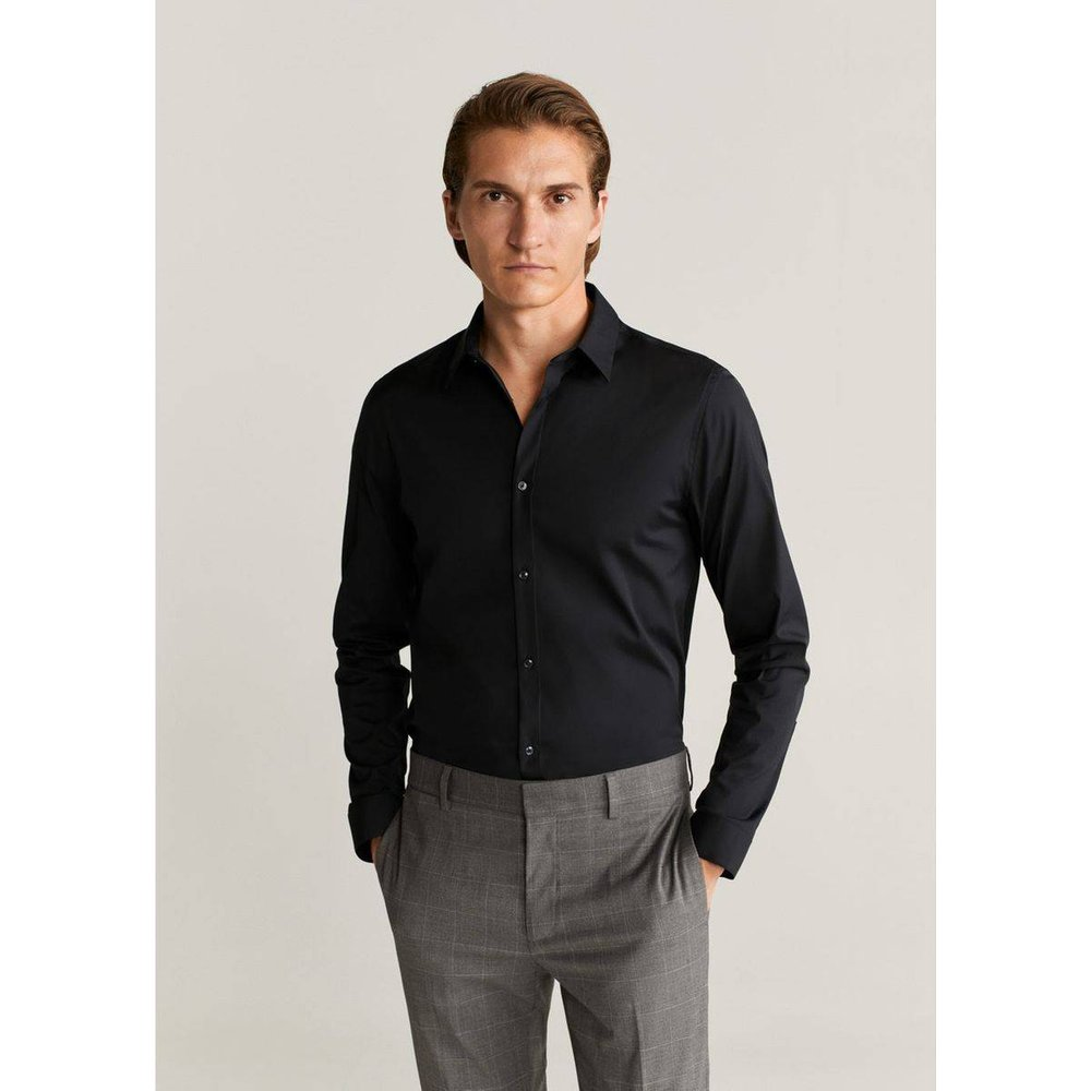 Chemise Tailored super slim-fit coton stretch - mango man - Modalova
