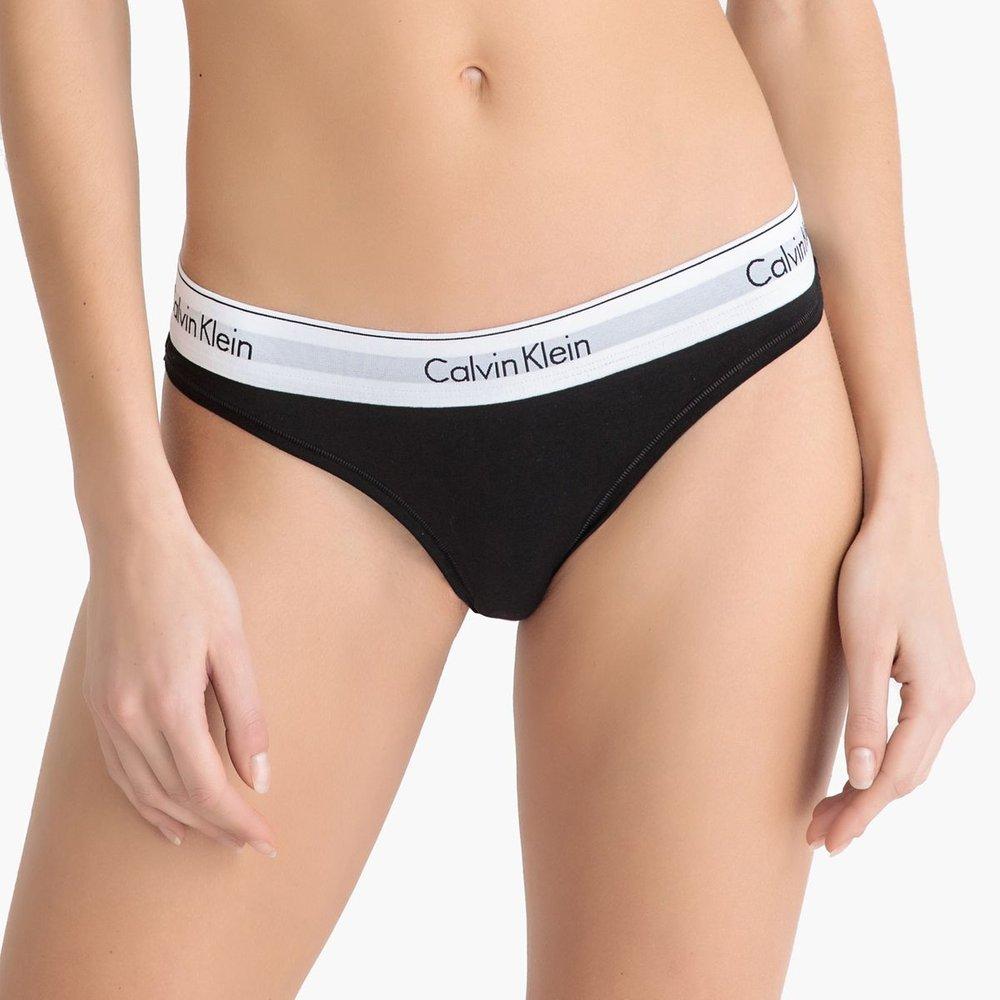 String siglé MODERN COTTON - Calvin Klein - Modalova