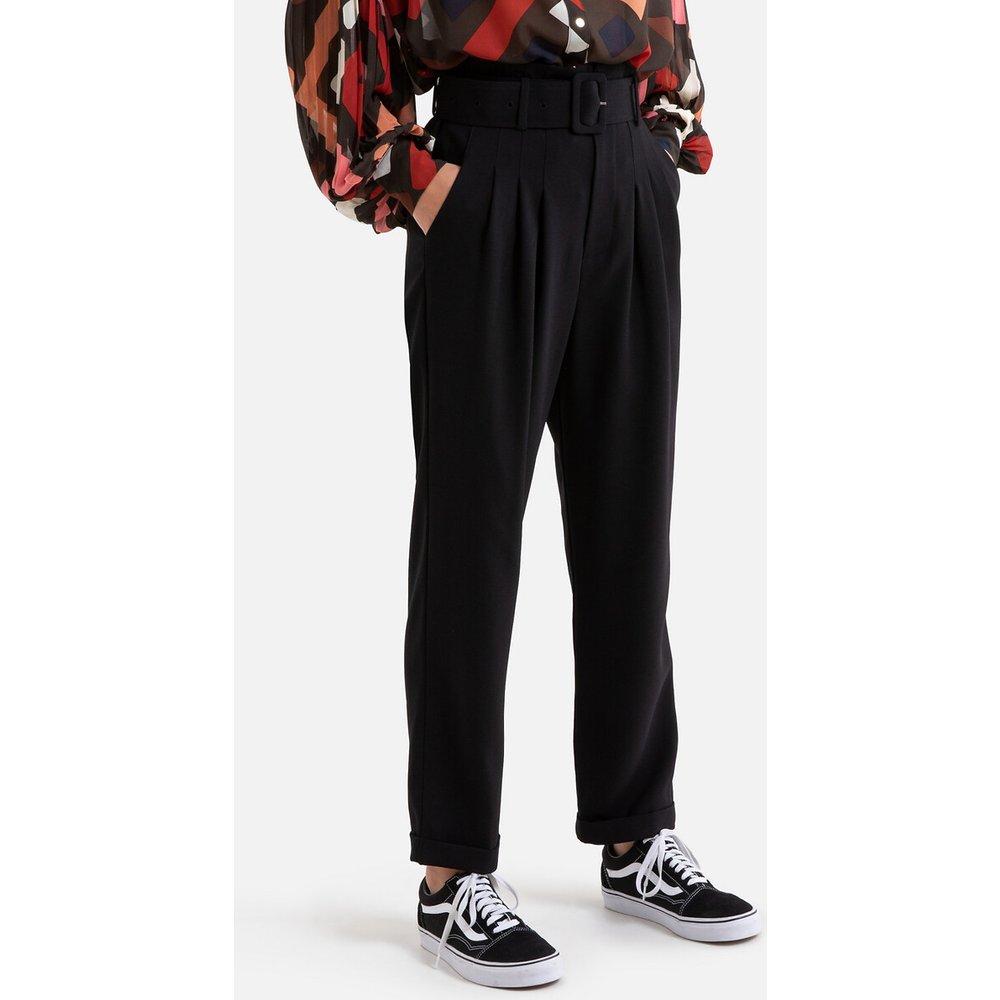Pantalon large à taille haute et ceinture - Suncoo - Modalova