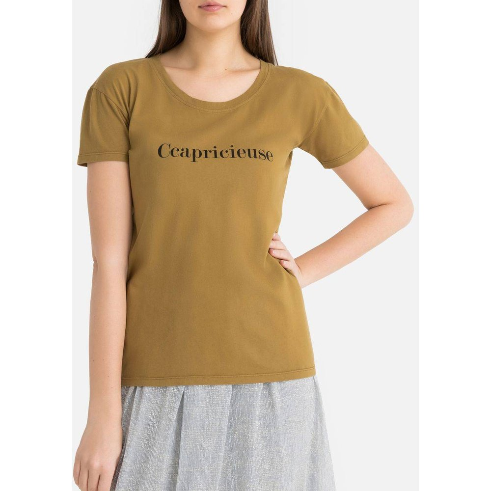 "Tee shirt col rond manches courtes ""Ccapricieuse"" - VANESSA BRUNO - Modalova"