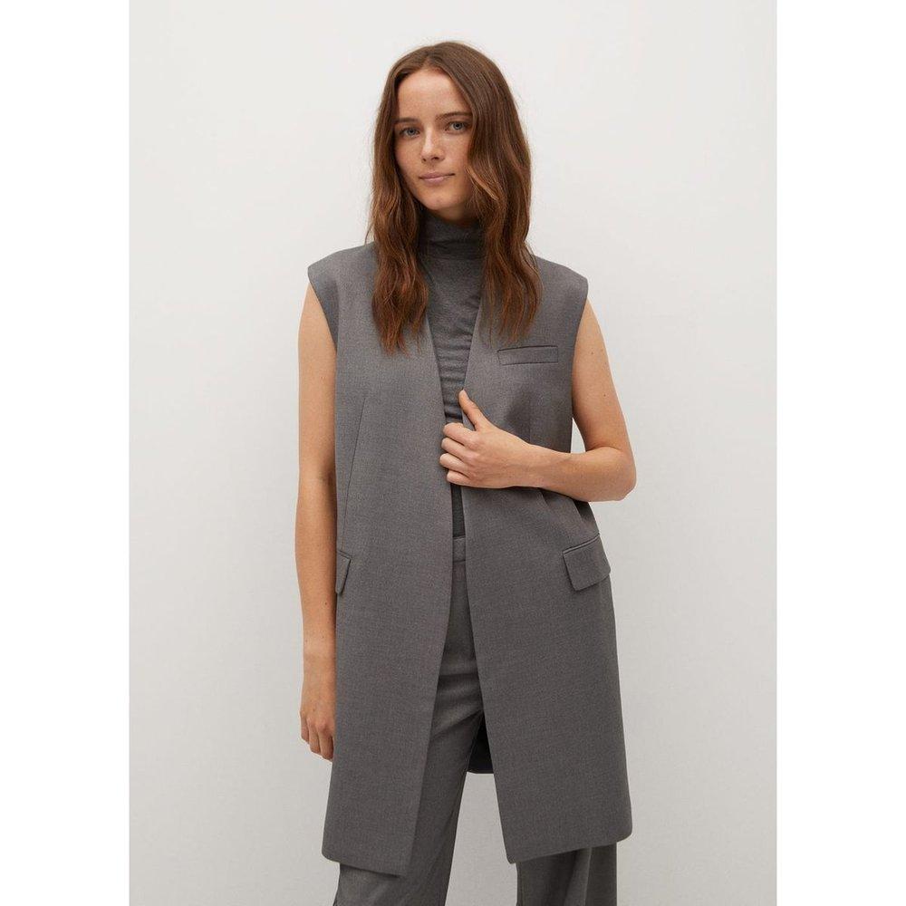 Gilet costume poches - Mango - Modalova