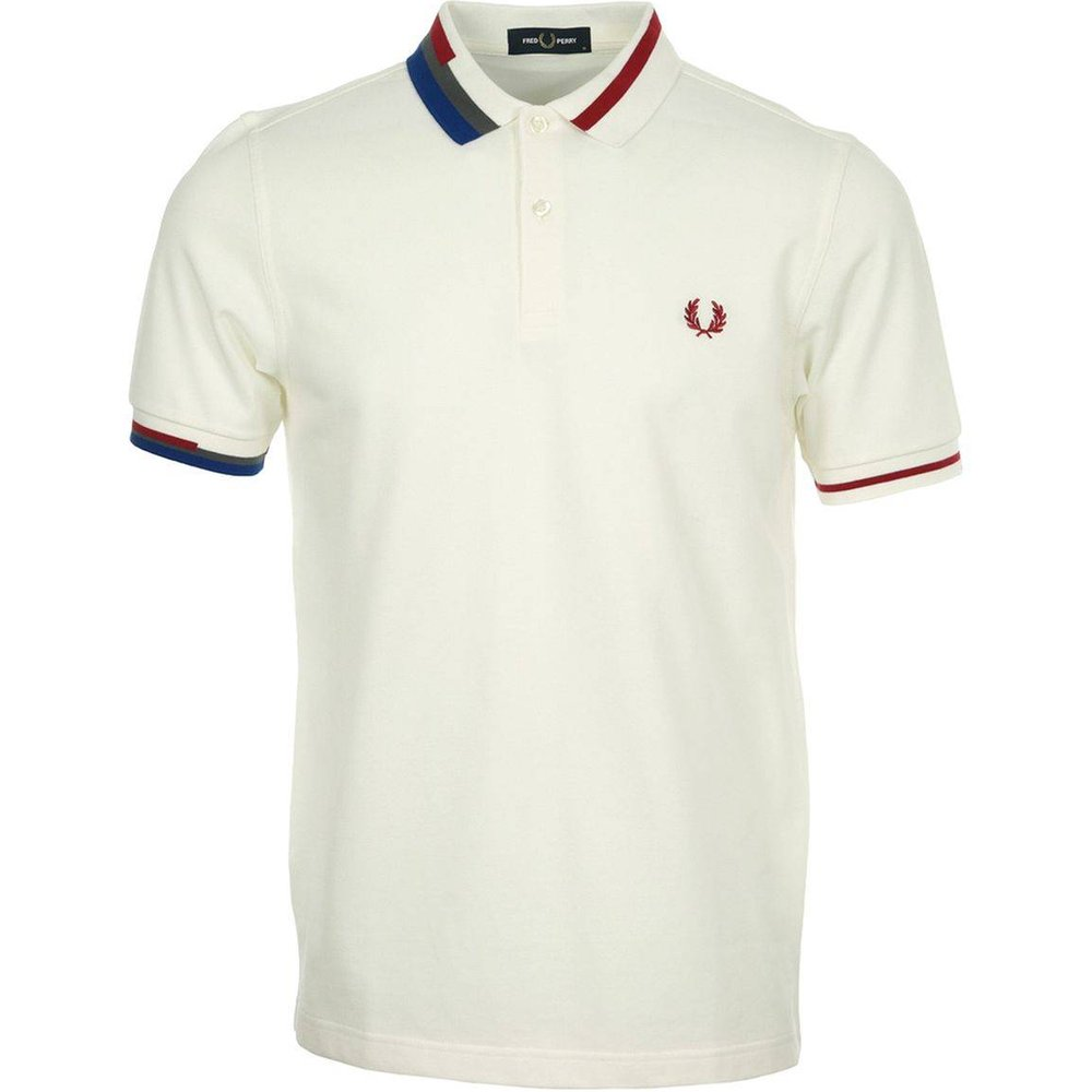 Polo Abstract Collar Pique Shirt - Fred Perry - Modalova