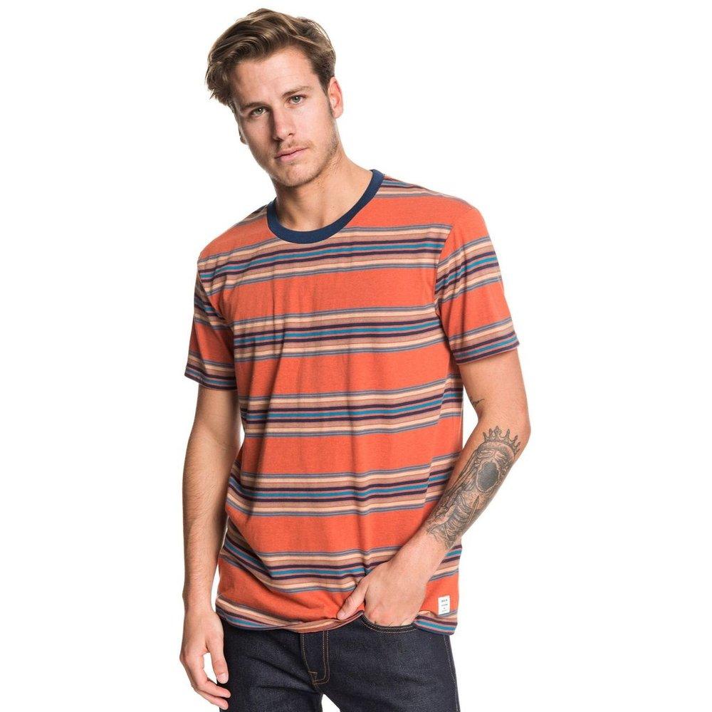 T-shirt col rond, manches courtes - Quiksilver - Modalova