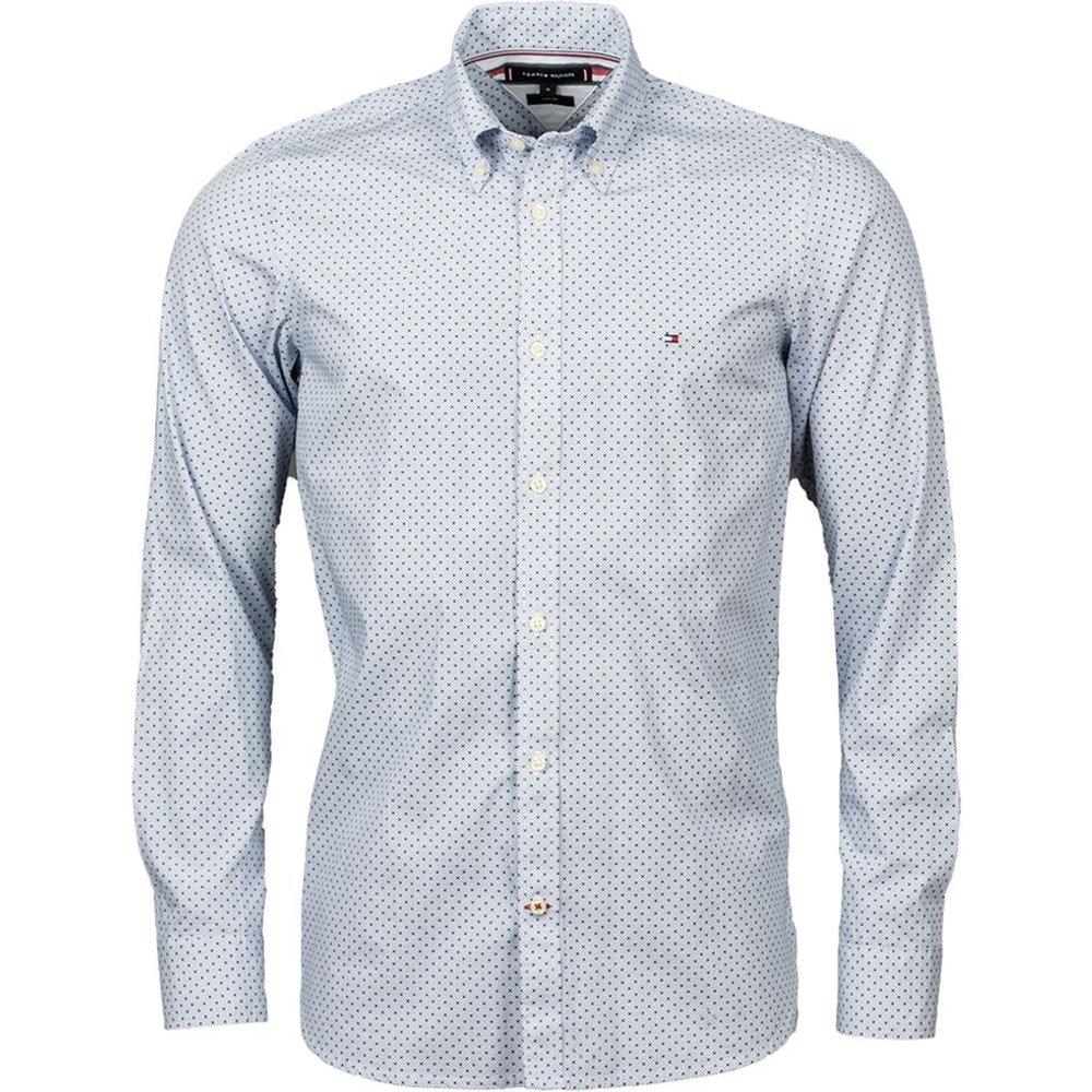 Chemise coupe ajustée coton - Tommy Hilfiger - Modalova