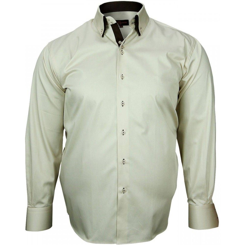 Chemise double col BROOKS - DOUBLISSIMO - Modalova