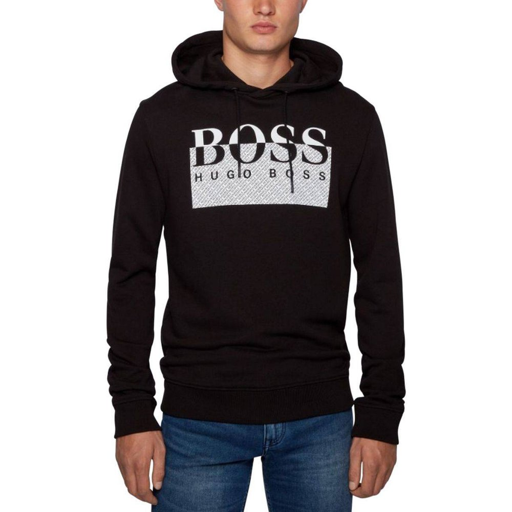 Sweat à capuche WREFIBRA - HUGO BOSS ORANGE - Modalova