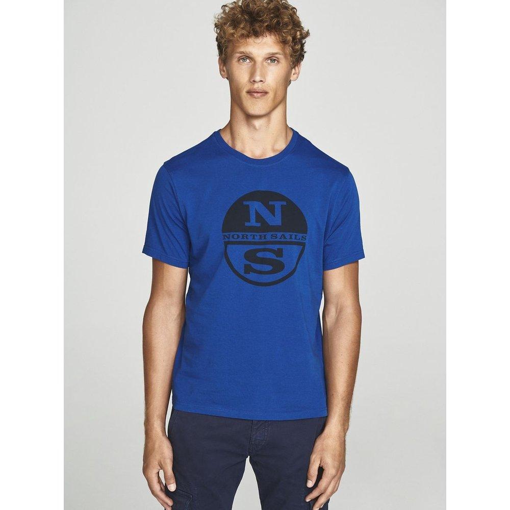 T-shirt en pur jersey en coton coupe droite - North Sails - Modalova