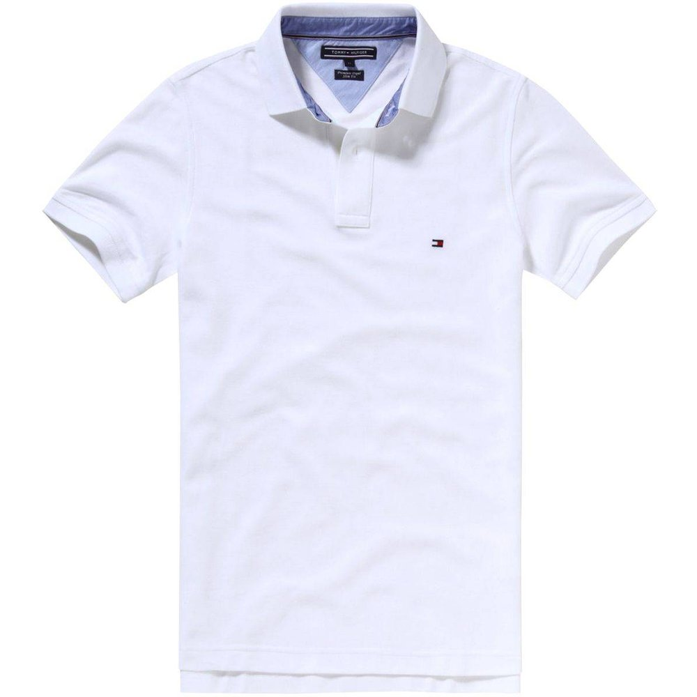Polo slim fit maille piquée coton luxe - Tommy Hilfiger - Modalova