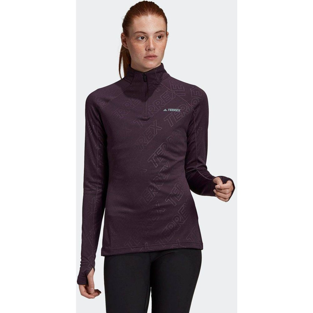T-shirt Terrex Tracerocker 1/2 Zip Long Sleeve - adidas performance - Modalova