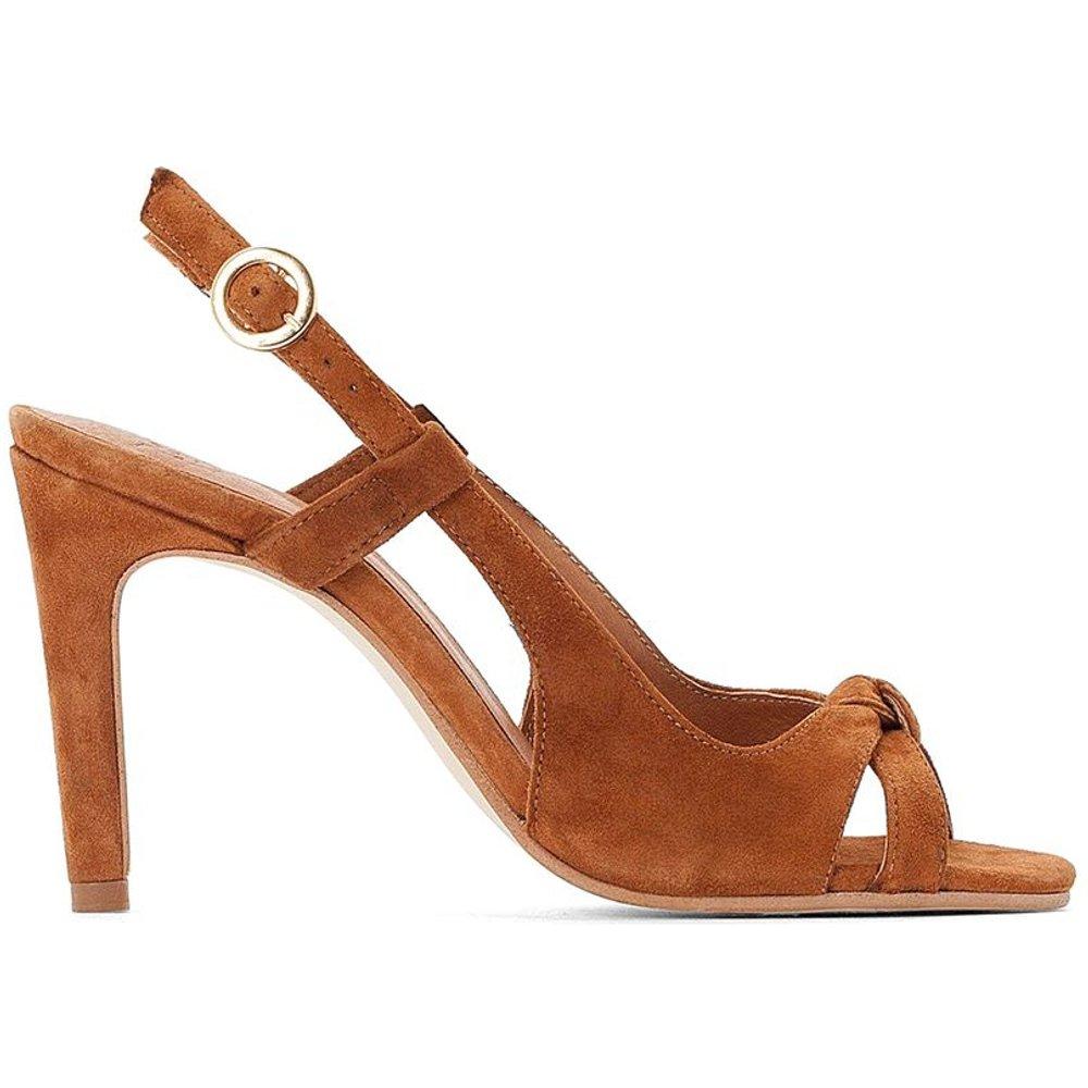 Sandales en cuir à haut talon - BALZAC PARIS X LA REDOUTE COLLECTIONS - Modalova
