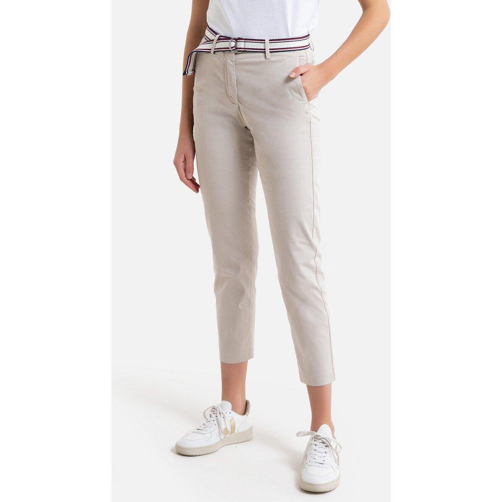 Pantalon chino à ceinture tricolore - Tommy Hilfiger - Modalova