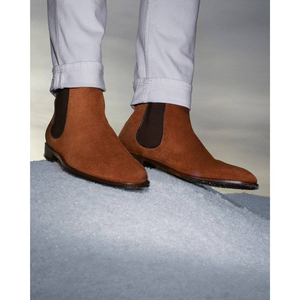 Boots cuir TAMSIR - MINELLI - Modalova