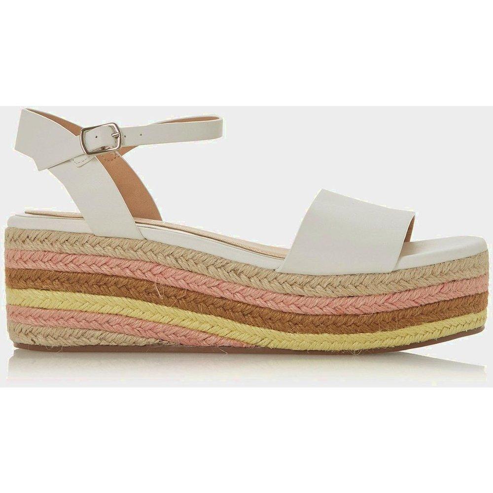 Sandales style espadrilles à talons compensés - KORRA - Head Over Heels by Dune - Modalova
