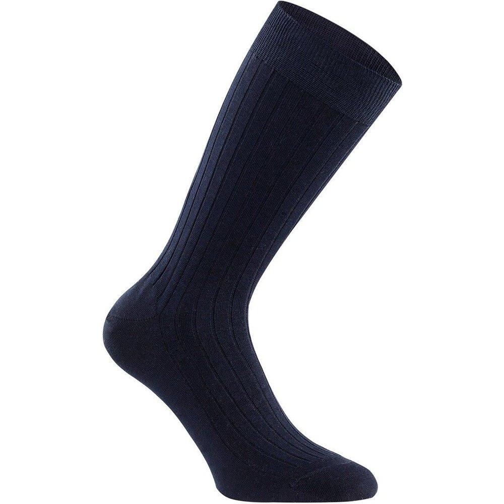 Chaussettes mi-hautes striées en fil d'Ecosse - IMPETUS - Modalova