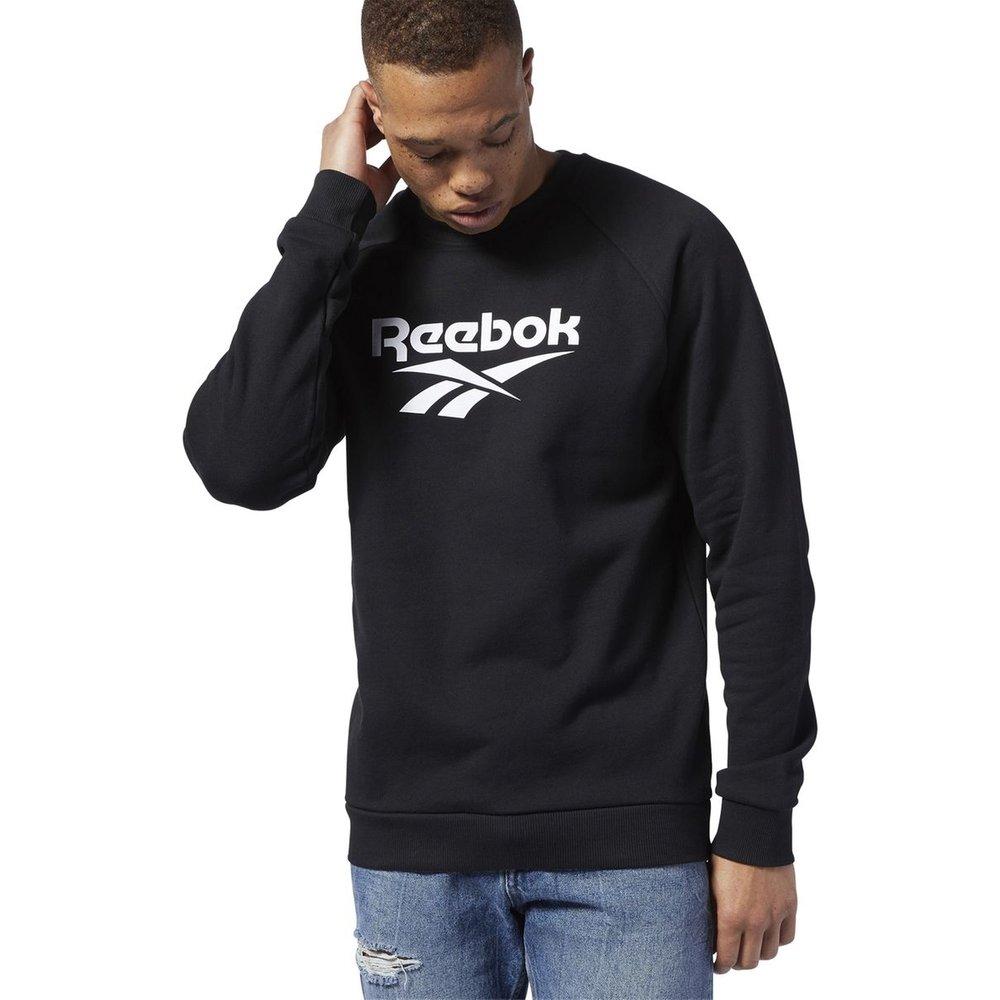 Sweat col rond gros logo - Reebok - Modalova