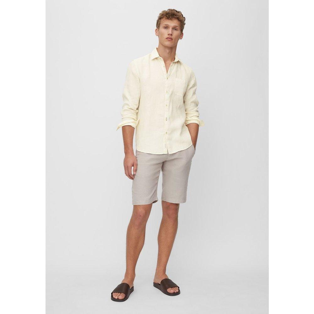 Chemise à manches longues de coupe regular En pur lin - Marc O'Polo - Modalova