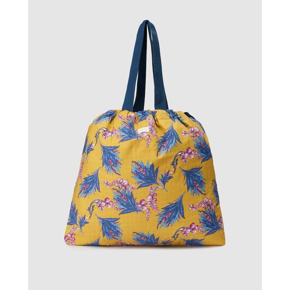 Sac cabas en toile moutarde à imprimé floral conible en sac à dos - EL CORTE INGLES - Modalova