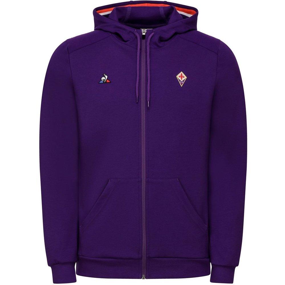 Sweat à capuche zippé Fiorentina - Le Coq Sportif - Modalova
