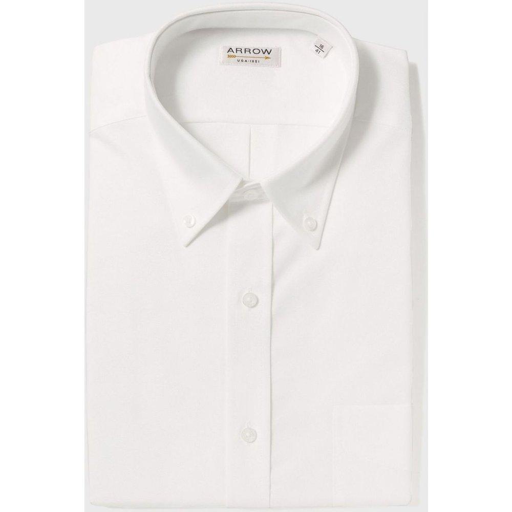 Chemise Confort fit coton Oxford Authentic - Arrow - Modalova
