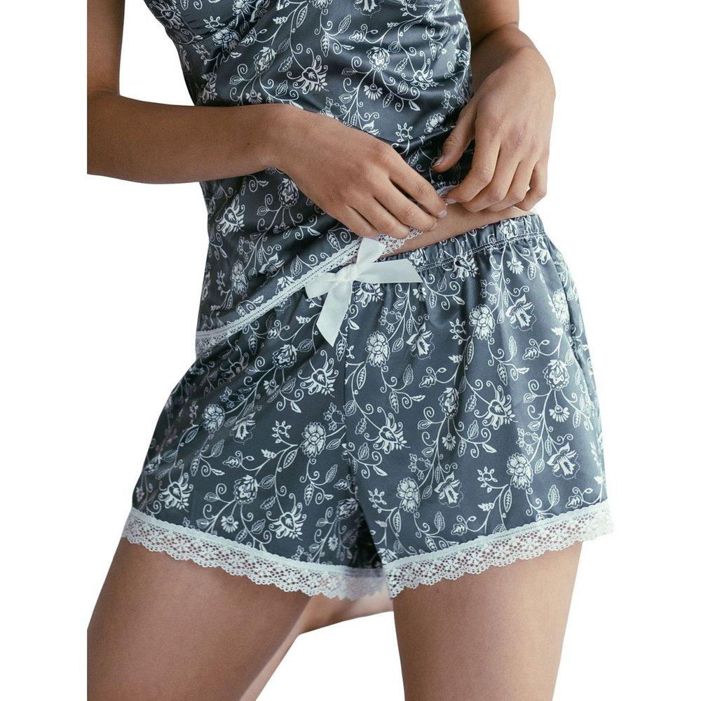 Short de Pyjama Floral - GUY DE FRANCE - Modalova