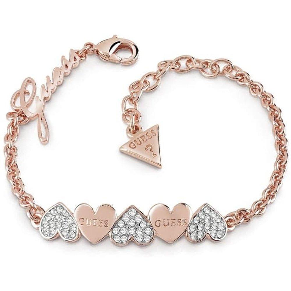 Bracelet Cœurs Heart Bouquet - Guess - Modalova