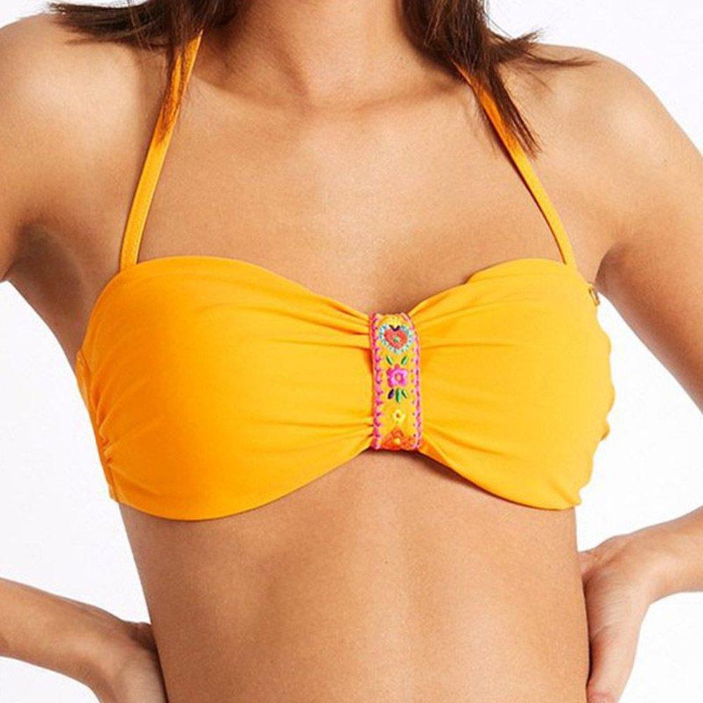 Haut de bikini Bandeau TONTO QUINTANA - banana moon - Modalova