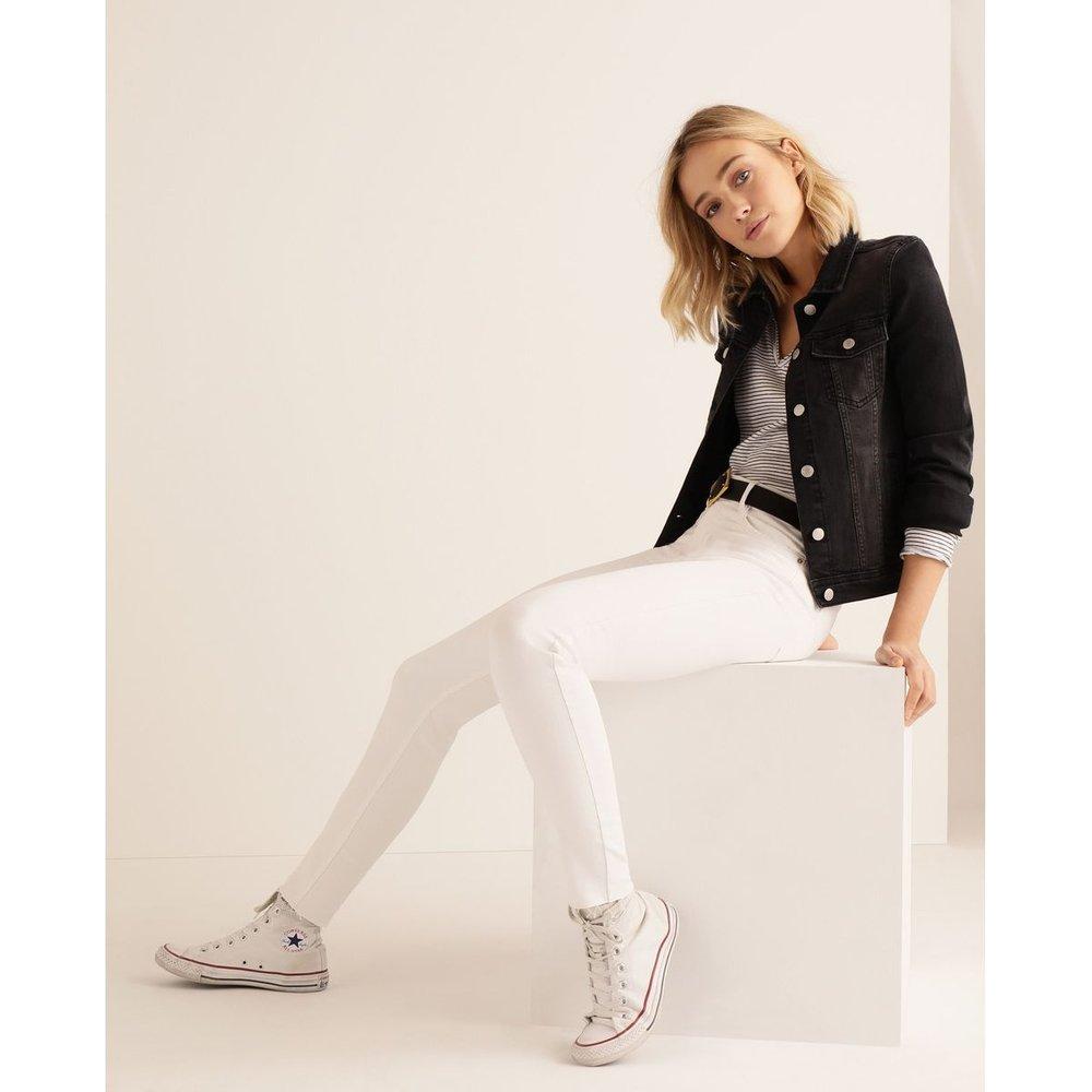 Veste en jean élastique - GREEN COAST - Modalova
