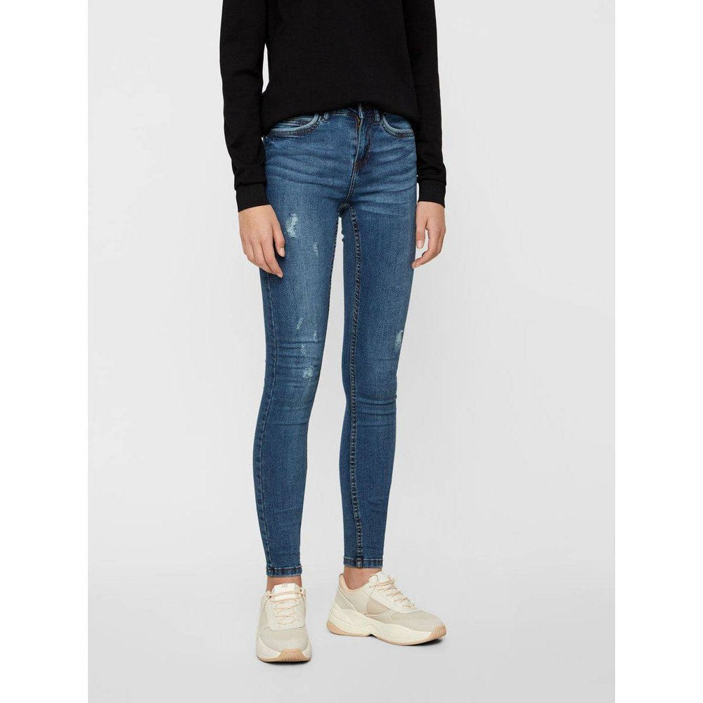 Jean skinny NMLUCY Normal Waist - Noisy May - Modalova