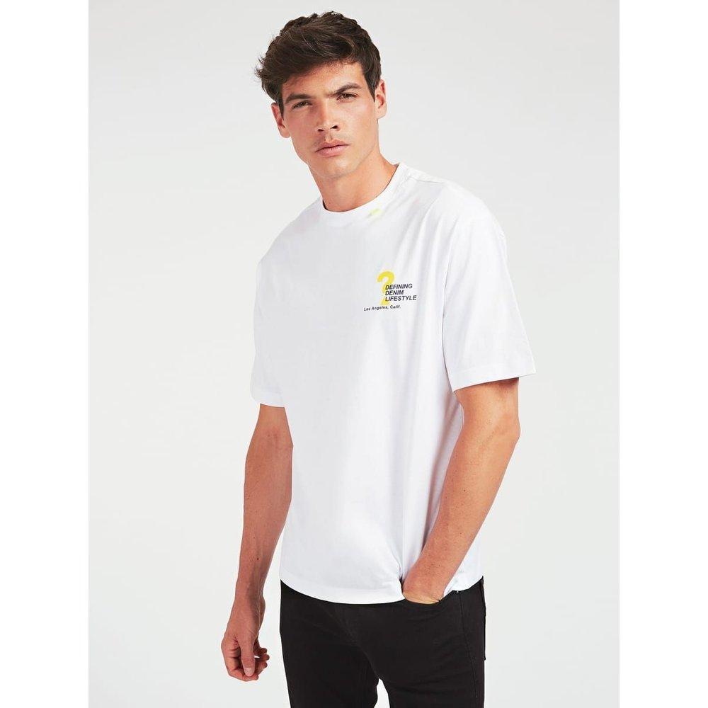 T-Shirt Imprimé Sur Le Devant - Guess - Modalova