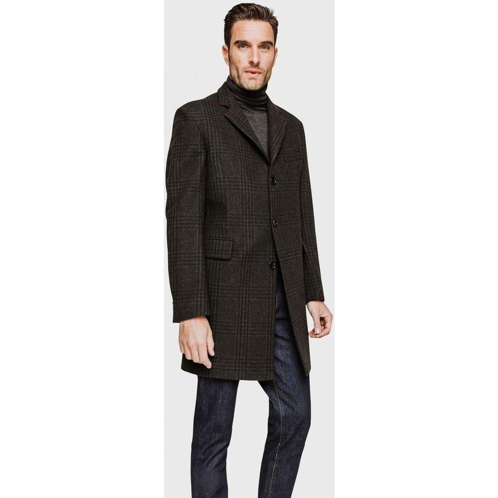 Manteau en laine à carreaux - Arrow - Modalova