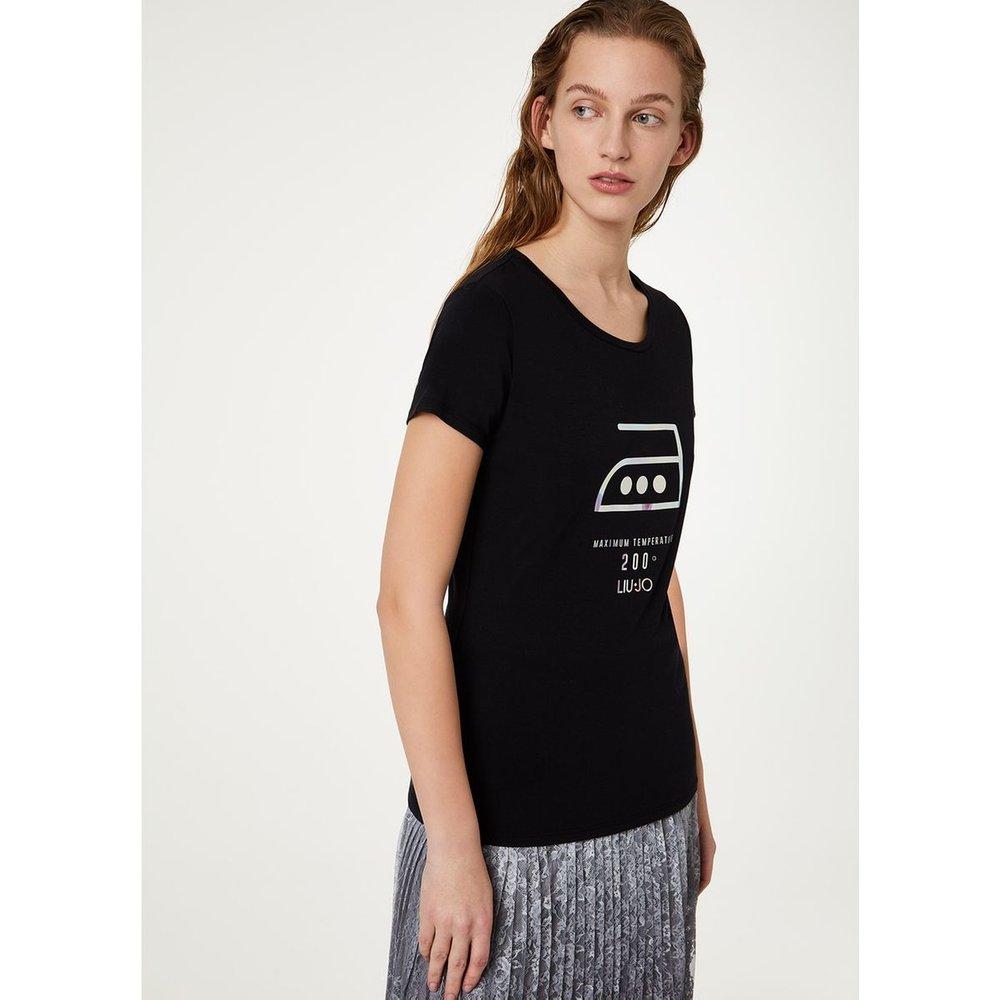 T-shirt avec imprimé - LIU JO - Modalova