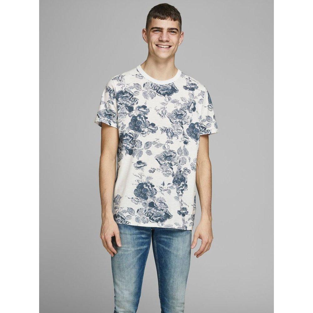 T-Shirt Imprimé fleuri - jack & jones - Modalova
