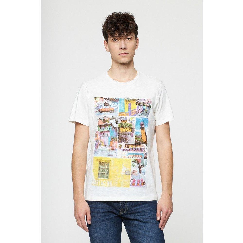 T-shirt imprimé en coton - BEST MOUNTAIN - Modalova