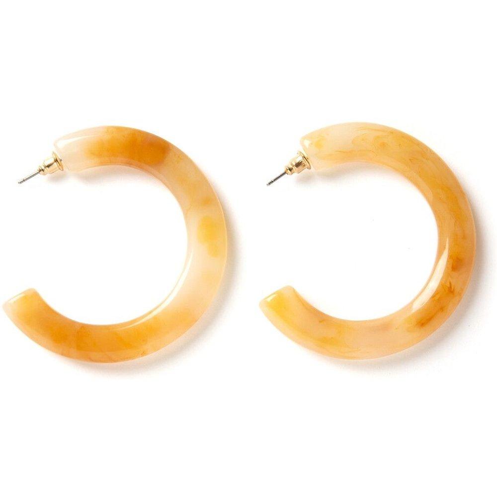 Boucles d'oreilles créoles ouvertes - LA REDOUTE COLLECTIONS - Modalova
