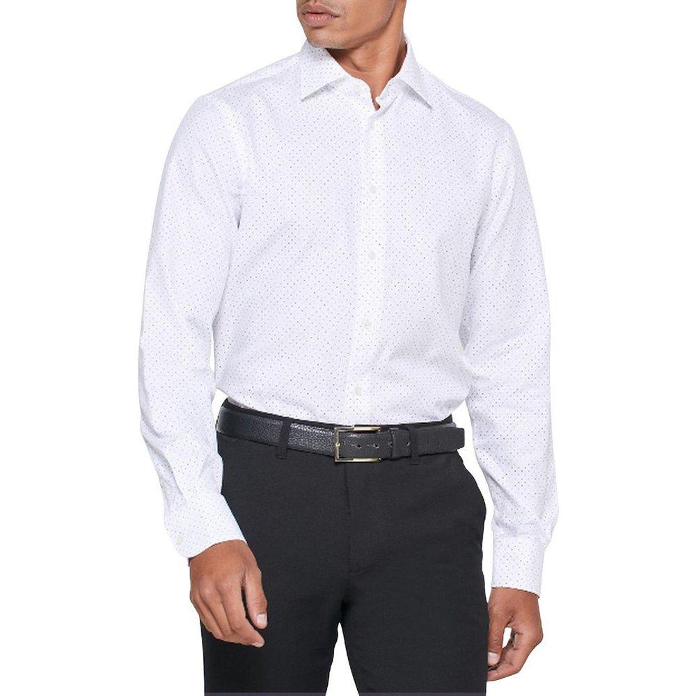 Chemise manches longues à pois - Tommy Hilfiger - Modalova