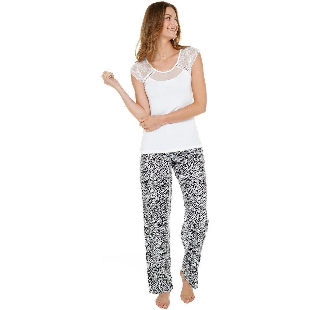 Pyjama ivoire/noir Léo - POMM'POIRE - Modalova