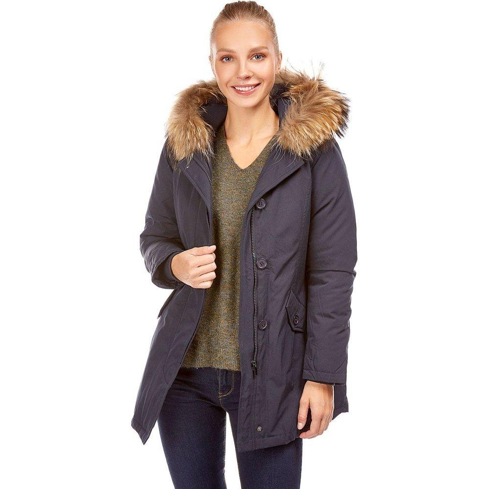Manteau capuche bordée fourrure - BEST MOUNTAIN - Modalova