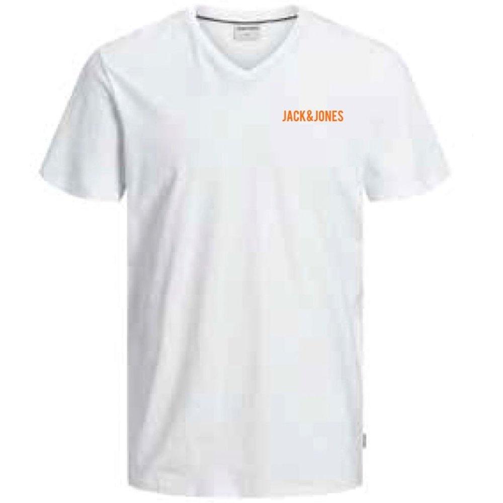 T-shirt col V Jcostrong - jack & jones - Modalova
