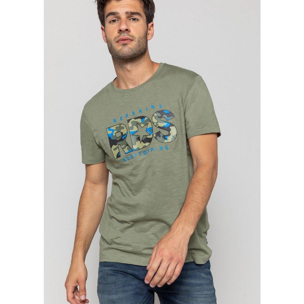T-shirt col rond RDS FLAMES - REDSKINS - Modalova