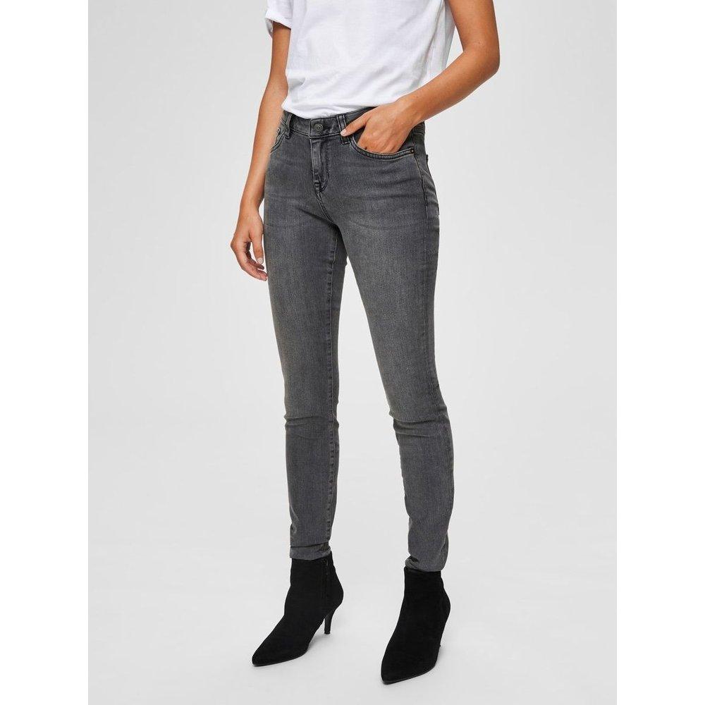 Jean skinny Taille mi-haute  - Selected Femme - Modalova