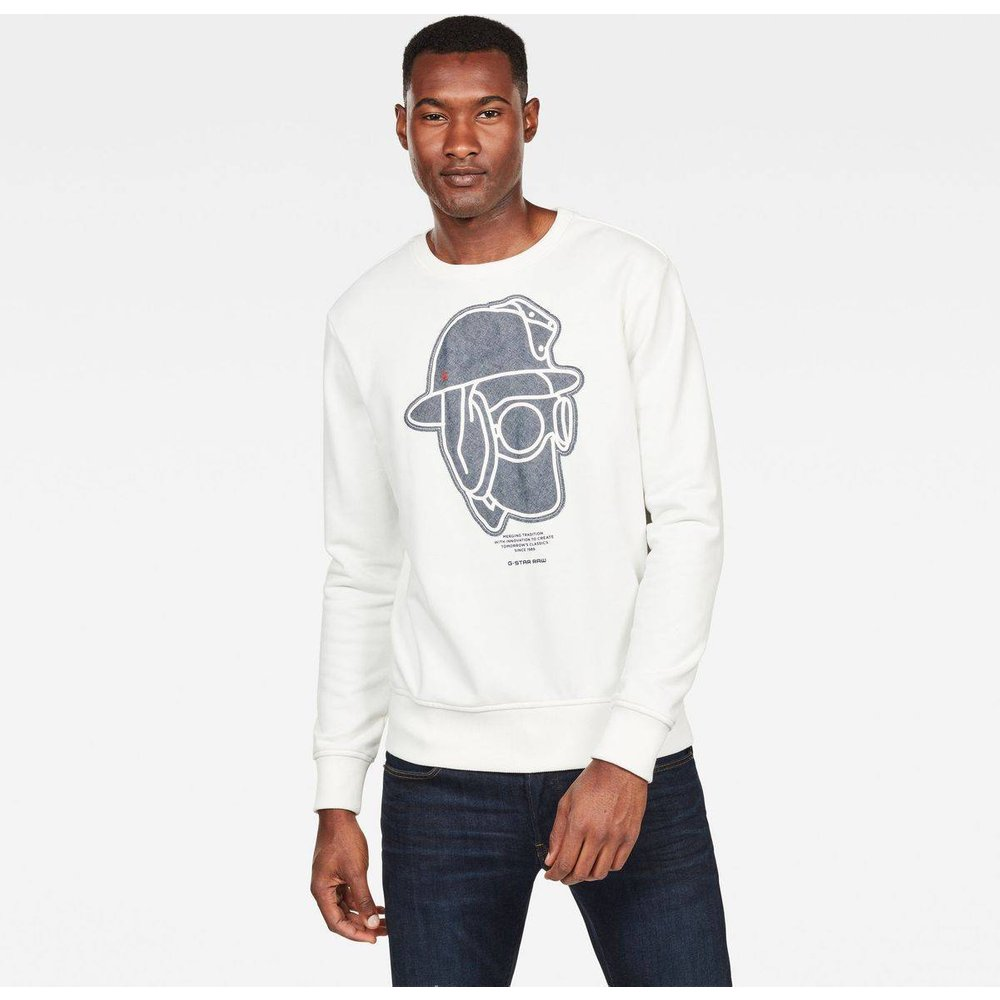 Sweat Col Rond - G-Star Raw - Modalova