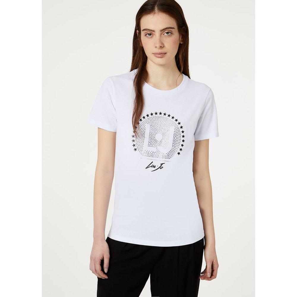 T-shirt avec applications - LIU JO - Modalova