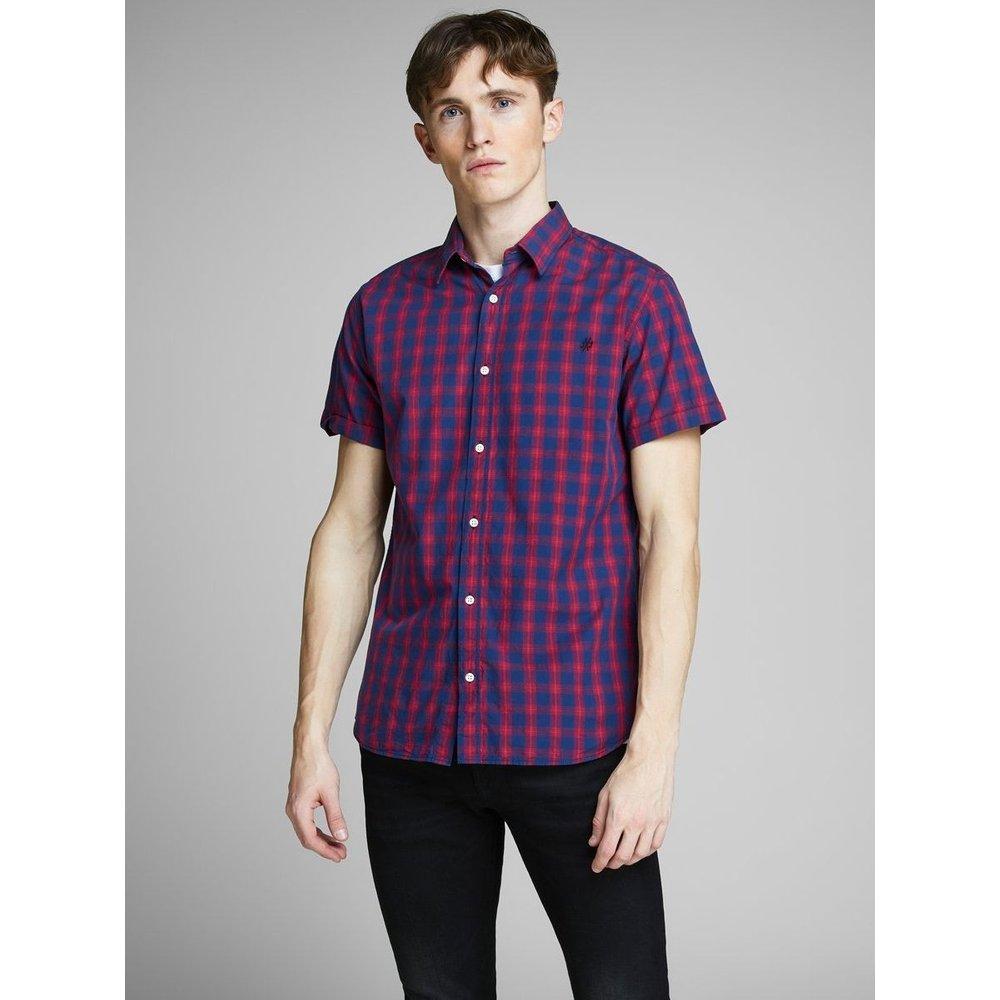 Chemise à manches courtes Carreaux - jack & jones - Modalova