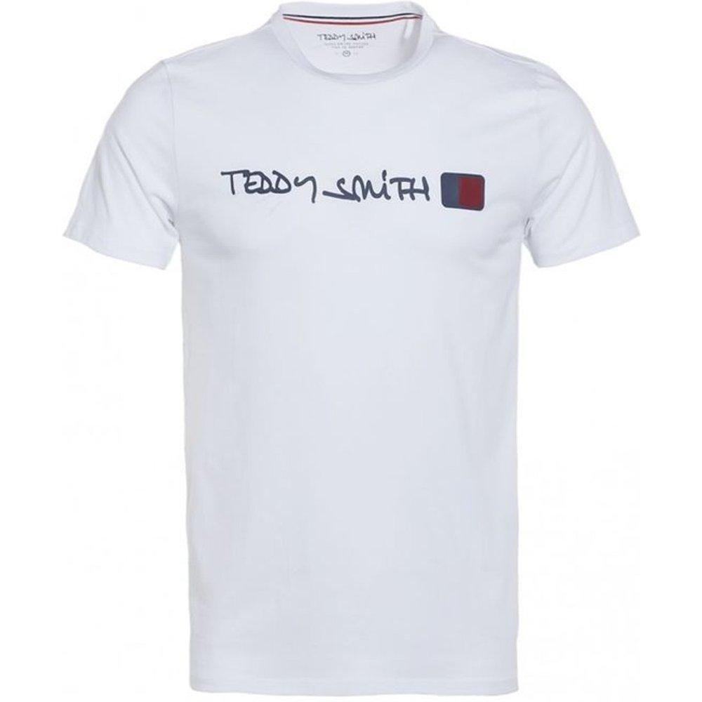 Tee-shirt coton col rond Tclap - Teddy smith - Modalova