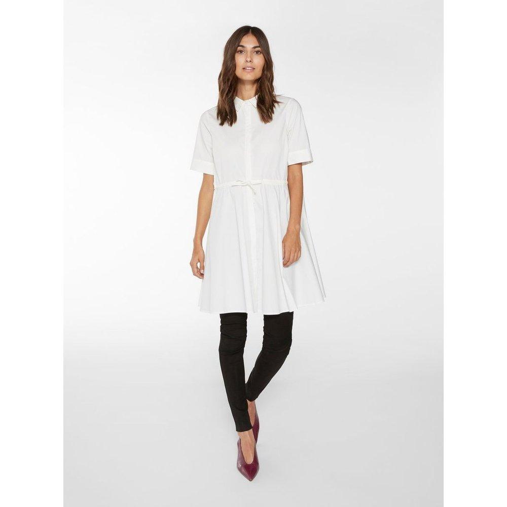 Robe-chemise Mini en coton biologique - YAS - Modalova